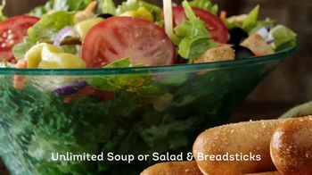 Olive Garden Lunch Duos TV Spot, 'Meatball Pizza Bowl' - Thumbnail 6