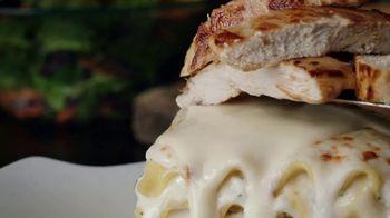 Olive Garden Lasagna Mia TV Spot, 'Sauces and Toppings' - Thumbnail 1