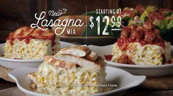 Olive Garden Lasagna Mia TV Spot, 'Sauces and Toppings' - Thumbnail 8