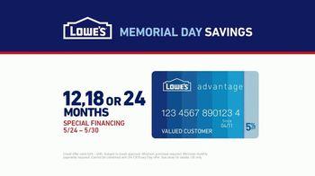 Lowe's Memorial Day Savings TV Spot, 'Not Enough Fridge: Advantage Card' - Thumbnail 5