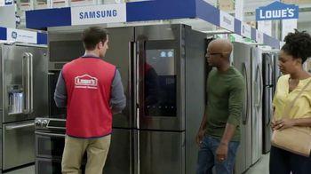 Lowe's Memorial Day Savings TV Spot, 'Not Enough Fridge: Advantage Card' - Thumbnail 3