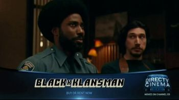 DIRECTV Cinema TV Spot, 'BlacKkKlansman'