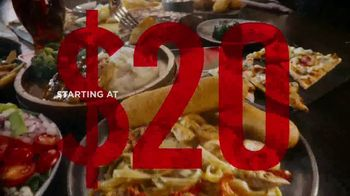TGI Fridays TV Spot, 'Holiday Feast for $20 at TGI Fridays' - 1233 commercial airings