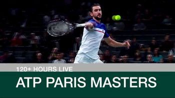 Tennis Channel Plus TV Spot, 'ATP Paris Masters' - Thumbnail 4