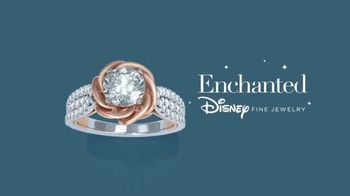Zales Enchanted Disney Fine Jewelry TV Spot, 'Belle' - Thumbnail 7