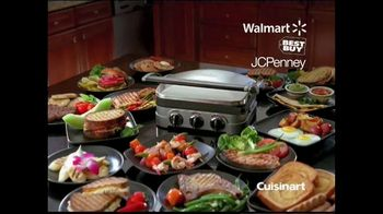 Cuisinart Griddler TV Spot, 'Great Meals in 15 Minutes' - Thumbnail 9