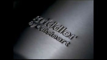 Cuisinart Griddler TV Spot, 'Great Meals in 15 Minutes' - Thumbnail 1
