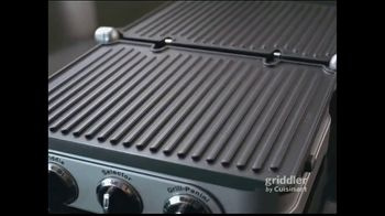 Cuisinart Griddler TV Spot, 'Great Meals in 15 Minutes' - Thumbnail 3