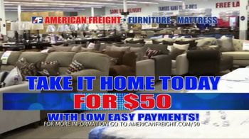American Freight The Big Sale TV Spot, 'Don't Just Rent' - Thumbnail 3