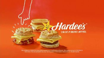 Hardee's Breakfast Sandwiches TV Spot, 'Made-From-Scratch Biscuits: I'm My Own Alarm Clock' - Thumbnail 7