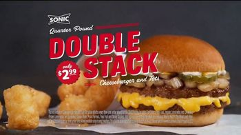 Sonic Drive-In Quarter Pound Double Stack TV Spot, 'Meltdown' - Thumbnail 10