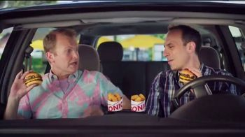 Sonic Drive-In Quarter Pound Double Stack TV Spot, 'Meltdown' - Thumbnail 2