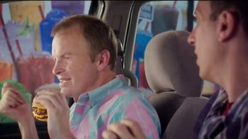 Sonic Drive-In Quarter Pound Double Stack TV Spot, 'Meltdown' - Thumbnail 7