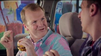 Sonic Drive-In Quarter Pound Double Stack TV Spot, 'Meltdown'