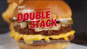 Sonic Drive-In Quarter Pound Double Stack TV Spot, 'Meltdown' - Thumbnail 9