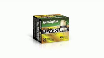 Remington Golden Saber Black Belt TV Spot, 'Supreme Control' - Thumbnail 9