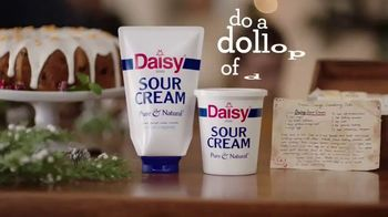 Daisy Sour Cream TV Spot, '2018 Holidays: Dollops for Generations'