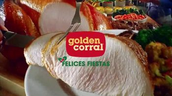 Golden Corral TV Spot, 'Holiday Dine In & Dine Out' [Spanish]