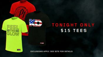 WWE Shop TV Spot, 'Explore Our Universe: $15 Tees' Song by American Gentlemen