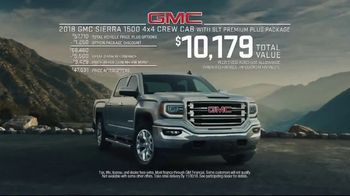 2018 GMC Sierra TV Spot, 'Real Truck' [T2] - Thumbnail 7