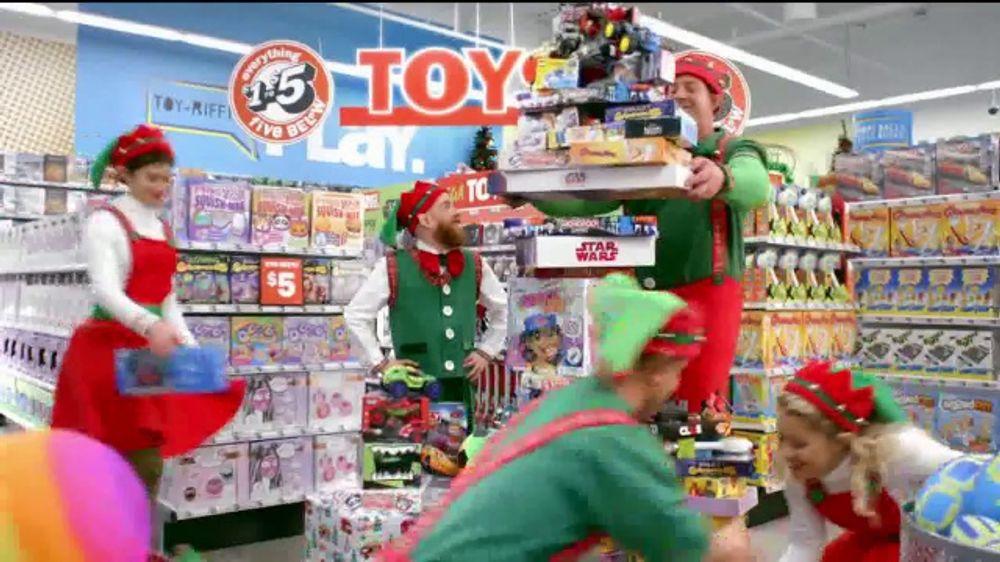 Five Below Tv Commercial 2018 Holidays Santa S Helpers Ispot Tv