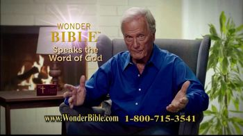 Wonder Bible TV Spot, The Word of God' Featuring Pat Boone - 21 commercial airings