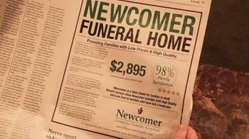 Newcomer Cremations, Funerals & Receptions TV Spot, 'Look at That Price' - Thumbnail 2