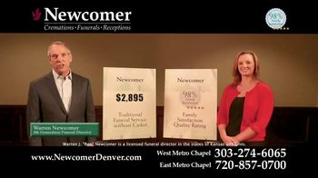 Newcomer Cremations, Funerals & Receptions TV Spot, 'Look at That Price' - Thumbnail 4