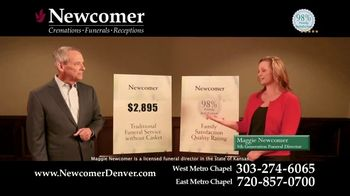 Newcomer Cremations, Funerals & Receptions TV Spot, 'Look at That Price' - Thumbnail 6