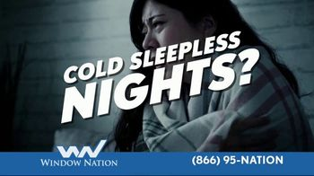 Window Nation TV Spot, 'Cold Sleepless Nights?'