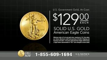 U.S. Money Reserve TV Spot, 'House of Cards: Gold Coins' Featuring Chuck Woolery - Thumbnail 9