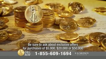 U.S. Money Reserve TV Spot, 'House of Cards: Gold Coins' Featuring Chuck Woolery - Thumbnail 8