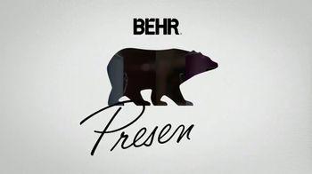 BEHR Paint Premium Plus TV Spot, 'Overachiever: Ceiling Paint' - Thumbnail 1