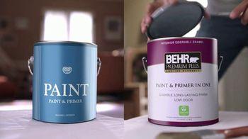 BEHR Paint Premium Plus TV Spot, 'Overachiever: Ceiling Paint' - Thumbnail 2