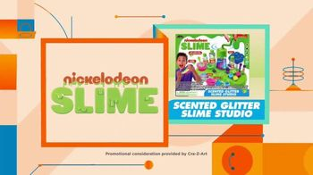 Nickelodeon Slime Scented Glitter Slime Studio TV Spot, 'Nickelodeon: Now and Wow' - Thumbnail 10