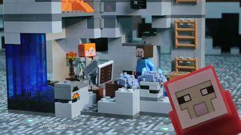 LEGO Minecraft TV Spot, 'Cave Spider'