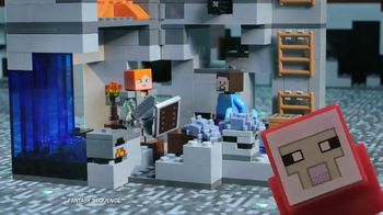 LEGO Minecraft TV Spot, 'Cave Spider' - 1168 commercial airings