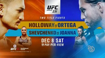 UFC 231 TV Spot, 'Championship Double Header' - Thumbnail 10