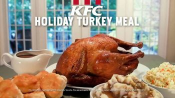 KFC Holiday Turkey Meal TV Spot, 'A Holiday Treat' - Thumbnail 2