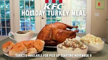 KFC Holiday Turkey Meal TV Spot, 'A Holiday Treat' - Thumbnail 8