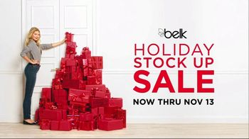 Belk Holiday Stock Up Sale TV Spot, 'Bonus Buys' - 34 commercial airings