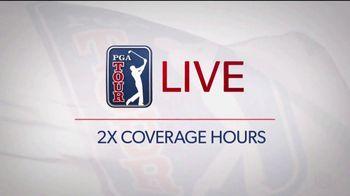 PGA TOUR LIVE TV Spot, 'Twice the Hours' - Thumbnail 1