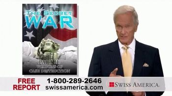 Swiss America TV Spot, 'The Secret War on Cash: Weapons of Cash Destruction' Featuring Pat Boone - 25 commercial airings