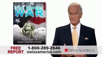 Swiss America TV Spot, 'The Secret War on Cash: Weapons of Cash Destruction' Featuring Pat Boone - Thumbnail 6