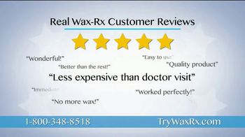 Wax-Rx TV Spot, 'Itchy, Annoying Ear Wax Issues'