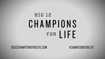 Big 12 Conference TV Spot, 'Champions for Life: Rodney Anderson' - Thumbnail 8