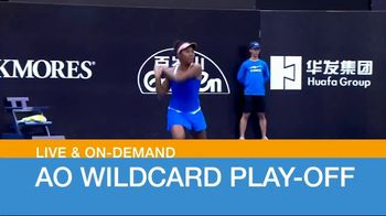 Tennis Channel Plus TV Spot, 'AO Wildcard Play-Off'