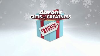 Aaron's Gifts of Greatness TV Spot, '$1 Gets You Started' - Thumbnail 10