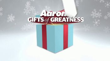 Aaron's Gifts of Greatness TV Spot, '$1 Gets You Started' - Thumbnail 2