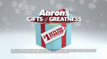 Aaron's Gifts of Greatness TV Spot, '$1 Gets You Started' - Thumbnail 3